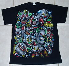 EVIL CLOWNS T Shirt (M) Medium icp insane clown posse circus sideshow