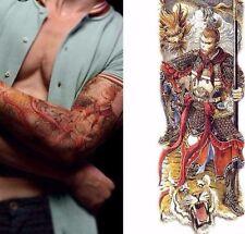 Dragon MONKEY Magic Tigre Tatuaggio Adesivo TEMPORANEO BODY ART 3D Tatuaggi IMPERMEABILE