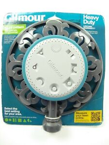 Gilmour Ring Base Multi-Pattern Sprinkler 8 patterns Heavy Duty