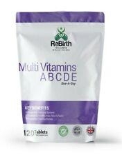 Multivitamins - Vitamins A,B,C,D & E 100% NRV (RDA) Multi Vitamins - 120 tablets