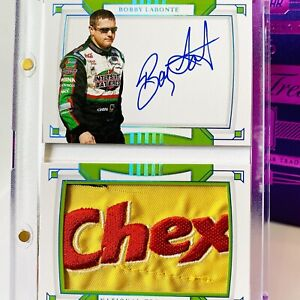 1/1 2020 National Treasures Autograph Firesuit Booklet - Bobby Labonte CHEX 🔥