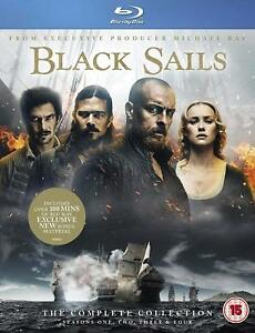 Black Sails Complete Collection Seasons 1, 2, 3 & 4 Blu ray Box Set RB Clearance