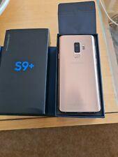 Samsung Galaxy S9 + SM-G965 - 128GB - Sunrise Gold (EE) (Single SIM)