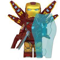 █ Buy 2 Get 1 Free █ Iron Man MK 85 Custom Mini Figure Minifigs Block WM6063 718