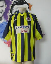 Vintage Fenerbahce 1999 2000 home shirt adidas soccer jersey size M