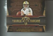 2014 Topps Triple Threads Football Hobby Factory Sealed Box