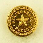 1890s-1920s Springfield Police Department Uniform Button Original C6ET