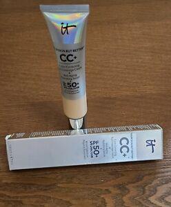 It Cosmetics CC+ Color Correcting  Full Coverage Cream 1.08oz Medium