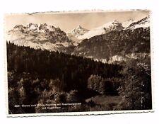 Switzerland - Brunig-Hasliberg mit Rosenlauigletscher - Postcard Franked 1939