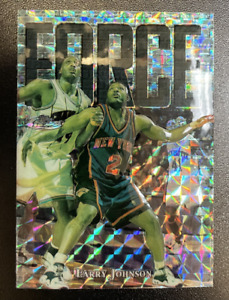 1997-98 Finest Embossed Refractors #139 Larry Johnson S /263 - NM-MT
