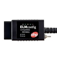 OHP ELM327 USB FTDI modifiziert Ford Mazda OBD2 Diagnosekabel CAN-BUS ELMconfig