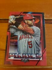 2020 Topps Fire Red Flame Albert Pujols Parallel Los Angeles Angels