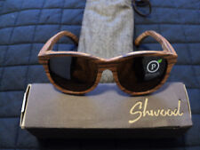 Shwood Made in Oregon Wooden Sunglasses.Brand New in Box Size in description.no2
