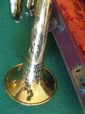 H. & A. Selmer Bundy Deluxe Trumpet 1947 with Case and MP