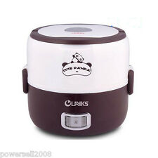 New Mini Rice Cooker Lunch Box 1.3L Capacity Rice Cooking Porridge Cooking
