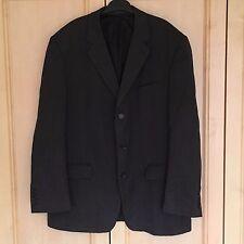 """BHS Jack Reid Men's Grey Marl Suit Jacket 44"""" Regular Wool Blend Charcoal"""