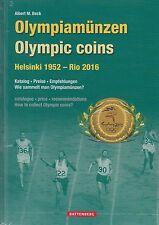 Battenberg: Albert M.Beck, Katalog Olympiamünzen Helsinki 1952 - Rio 2016