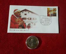 Papst Benedikt XVI. Papstbesuch in Bayern 2006 mit Medaille
