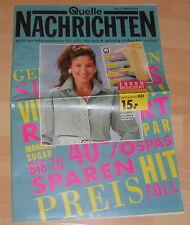 dachbodenfund versandhaus mini katalog quelle nachrichten prospekt heft 1994 alt