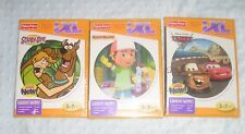 Lot of 4 Fisher Price IXL Learning System CD Games NEW