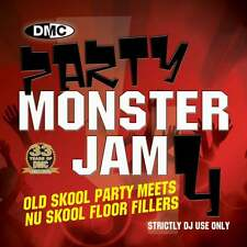 DMC Party Monsterjam Vol 4 Old Skool Continuous Megamix Mixed DJ CD