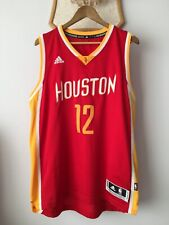 HOUSTON ROCKETS BASKETBALL NBA JERSEY ADIDAS SWINGMAN DWIGHT HOWARD #12 MEN L-XL