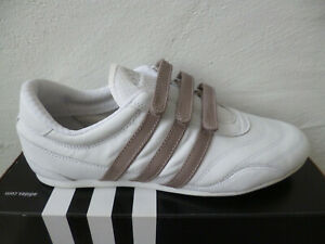 Adidas Trainers Casual Shoes Loafers White New