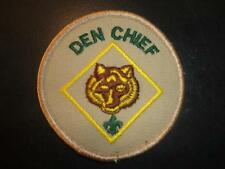 New DEN CHIEF position TAN patch Boy Scouts & Cub Scouts of AMERICA
