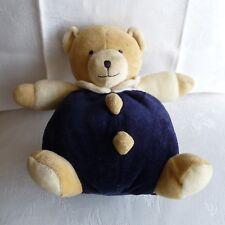 Doudou Ours Babysun - Bleu