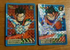 Dragonball Z lot Carte Power Level Super Battle Double Prism 529 + 529 Face B