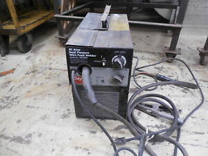USED DAYTON ELECTRIC 85 AMP DUAL PURPOSE WIRE FEED WELDER F556577 117-050-908