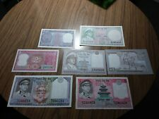 7 INDIA NOTES 10, 5, 1 RUPEES
