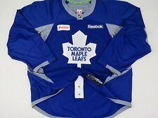 Blue Practice Worn Reebok Toronto Maple Leafs NHL Pro Stock Hockey Player Jersey
