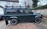 2004 Land Rover Defender County 110 Station Wagon 9 seater.