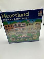 Main Street -2007 Heartland Great American 550 Piece Jigsaw  New Sealed
