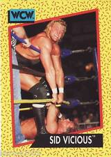 1991 WCW/WWE Impel #27 Sycho Sid Justice Vicious near mint