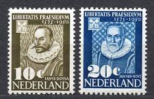 Netherlands - 1950 375 years Leiden university Mi. 563-64 MH