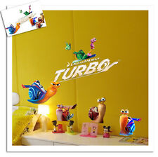 Turbo Snail Snails Wall Art Decal Removable Vinyl Nursery Stickers Baby Kid