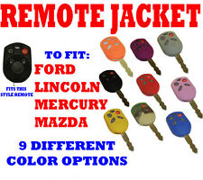 FORD MERCURY LINCOLN  MAZDA MANY MODELS PROTECTIVE KEY REMOTE FOB COVER - YELLOW