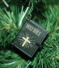 Small Holy Bible Christmas Ornament