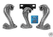 1994-2004 Mustang Cobra 3 Piece Emblem Kit