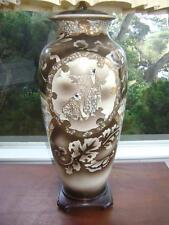VTG MID CENTURY HOLLYWOOD REGENCY JAPANESE ASIAN SATSUMA MORIAGE GEISHA LAMP