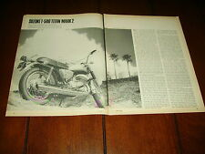1969 Suzuki T 500 Titan Mark 2 *Original Vintage Article