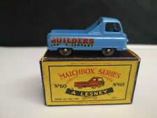 P483-MATCHBOX LESNEY NO60A MORRIS J-2 PICKUP WITH 'C' TYPE BOX