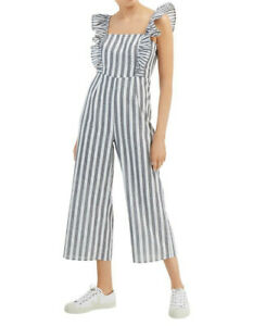 Fun and Fabulous Jumpsuit from The Fifth Label, NWT, XS/6, Charcoal and White