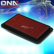 AVALON//SIENNA//SOLARA//CAMRY RED REPLACEMENT RACING DROP IN AIR FILTER PANEL
