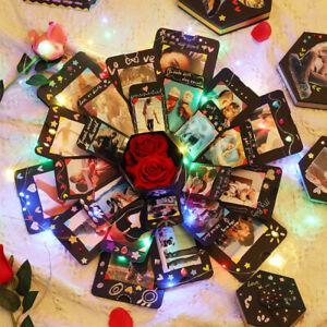 Fashion Love Explosion DIY Photo Album Box Gift Explosion Anniversary Scrapbook