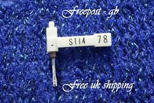92-STYLUS/AGUJA PARA TOCADISCOS/TOCADISCOS BSR ST12/ST14/ST15 78s & Lps