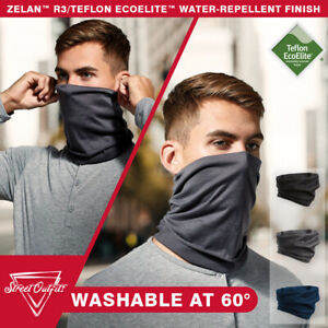 Face Mask Snood Washable Scarf Breathable Cover Protection Reusable