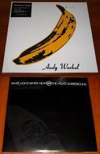 THE VELVET UNDERGROUND 2x LP 45th ANNI VINYL Lot ANDY WARHOL & WHITE LIGHT New